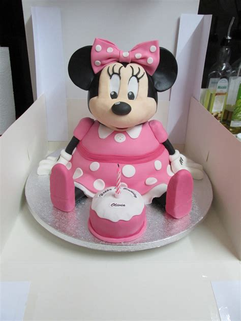 Strawberry Shortcake Birthday Decorations Minnie Mouse Cake Cakecentral Com