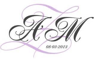 Free Monogram Templates Wedding Monogram Design Viewing Gallery