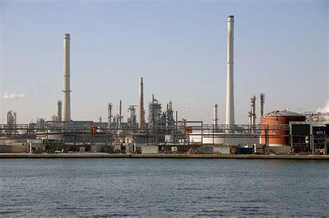 anversa porto industrie porto di anversa fotografia stock immagine