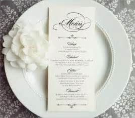Free Printable Menu Cards Templates by Wedding Menu Template 24 In Pdf Psd Word