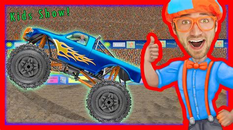 monster truck videos with music monster truck song educational videos for preschooler