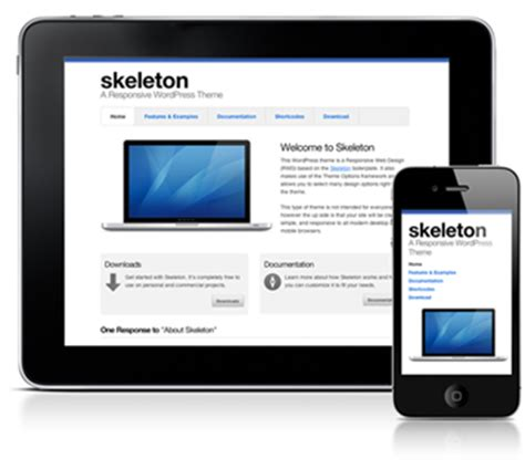 download themes for simple mobile skeleton a responsive wordpress theme