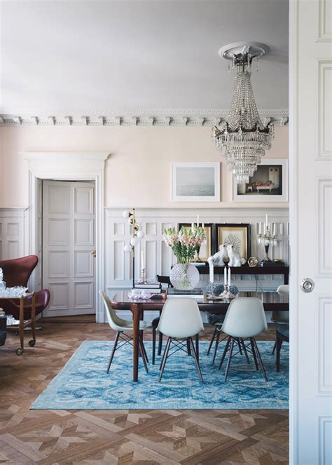 glamorous dining rooms all out glam meets modestly modern lark linen