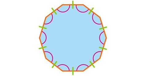 Interior Angle Decagon by What Is A Decagon Decagon Shape Dk Find Out