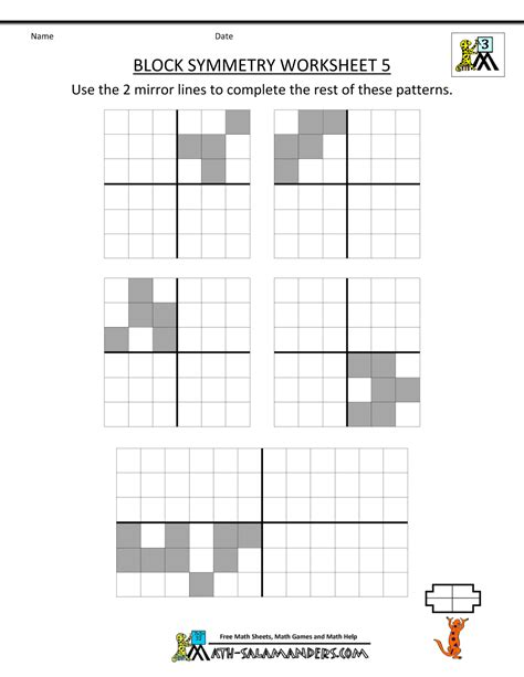 symmetrical patterns worksheet year 2 symmetry worksheet