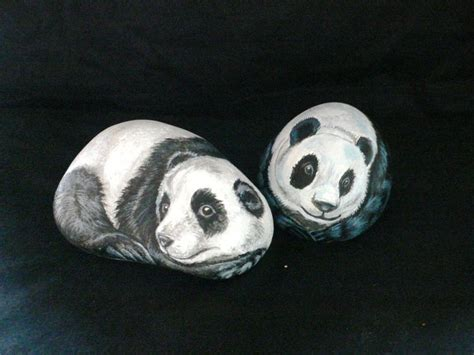 panda garden rock 1000 images about on pet rocks