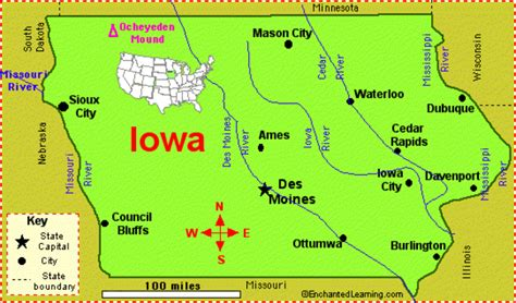iowa state map obama wins iowa us play