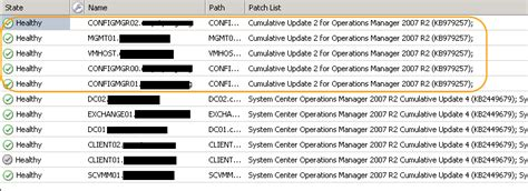 2007 Collections Report 2 by Creating A Collection In Sccm For Quot All Scom 2007 R2 Agents