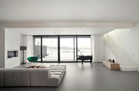 Polished Concrete Floors and Poured Resin Flooring London UK Contemporary Living Room London