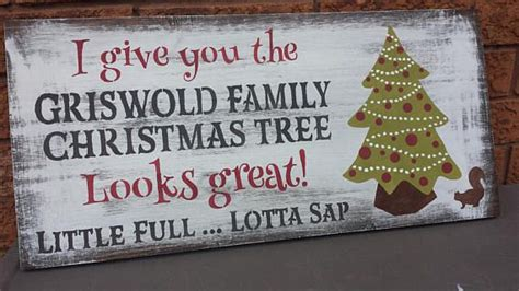 what would be good griswold gag gift griswold family tree sign national loon vacation sign humorous
