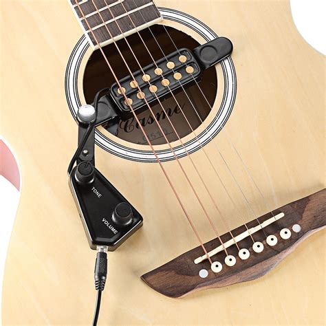 comfortable acoustic guitar neewer easy to use 12 hole magnetic acoustic guitar