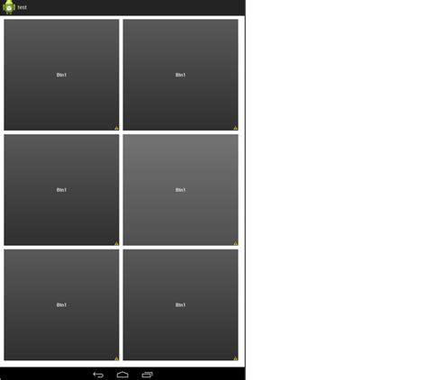 layout marginbottom android allow margin padding in tablelayout to give some