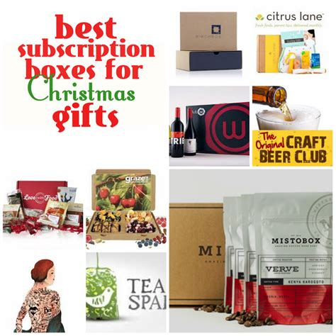 best subscription boxes for christmas gifts mistobox