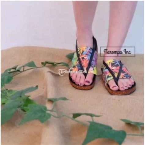 Sepatu Casual Slop Kickers Kulit Suede Motif Unik 2 Model sandal wanita tarompa bohemian boho ala birkenstock motif