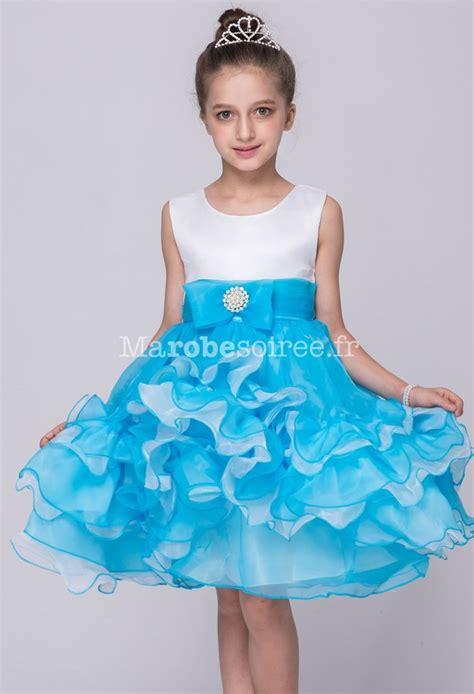 si鑒e enfant pour v駘o robe de soir 233 e enfant 224 volants princesse