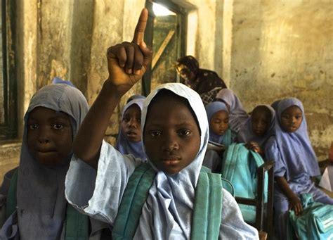 naija school girls as schoolgirls search goes on unicef works to help