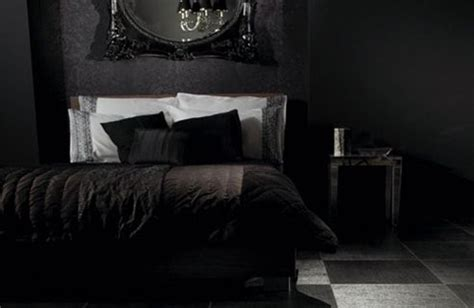 all black bedroom 26 impressive gothic bedroom design ideas digsdigs
