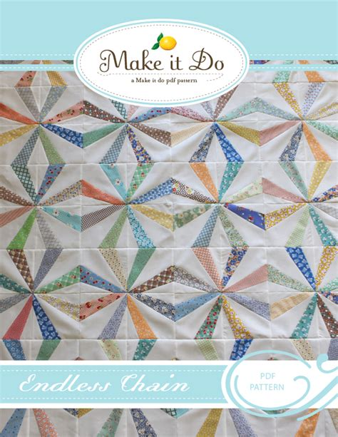 quilt pattern endless chain make it do endless chain pdf quilt pattern