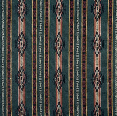 Lodge Style Upholstery Fabric by 54 Quot Quot F380 Striped Southwestern Navajo Lodge Style
