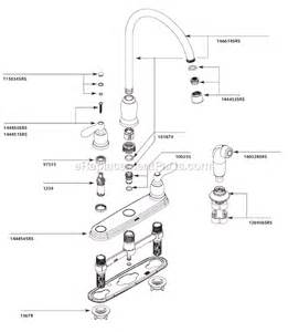 moen kitchen faucets parts diagram moen ca87060srs parts list and diagram ereplacementparts com