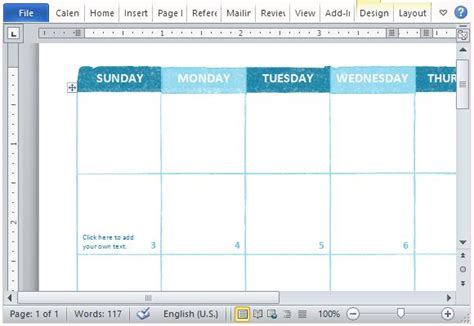 Free Academic Calendar Template For Microsoft Word Microsoft Powerpoint Calendar Template