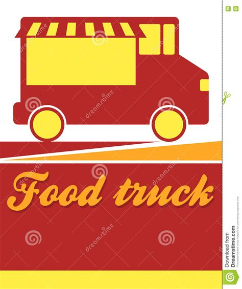 Food Truck Festival Flyer Stock Vector Image 74000623 Food Truck Flyer Template