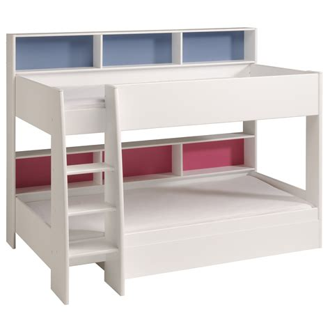 Tam Tam Bunk Bed Parisot Tam Tam Bunk Bed White Rainbow Wood