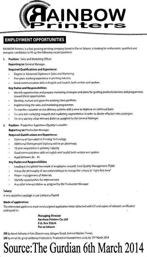 production supervisor description images frompo