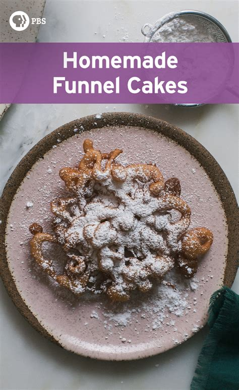 make funnel cakes at home hifow easy recipes