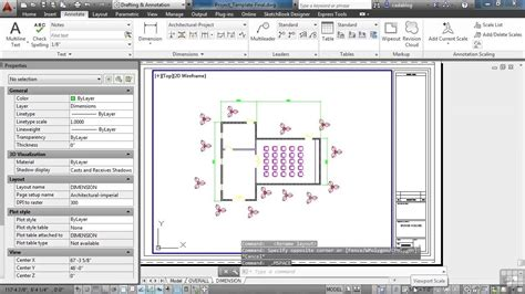 Autocad House Plan Tutorial Admirable Beginners Autodesk Autocad House Plan Tutorial