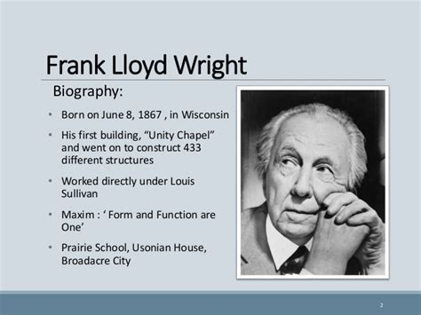 Frank Lloyd Wright Biography Video | frank lloyd wright