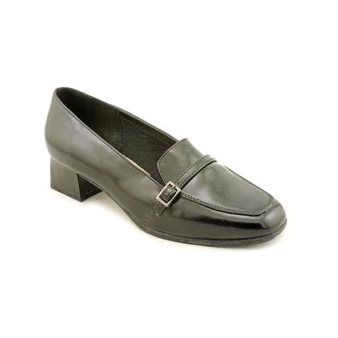 shop soft style by hush puppies s glide synthetic dress shoes wide size 7 5 free