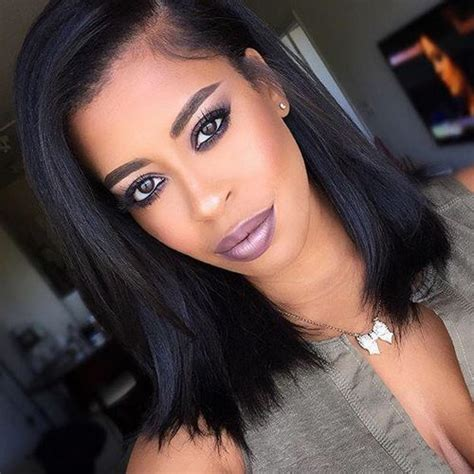 Hairstyles For Black Hair Medium Length by Best 25 American Hairstyles Ideas On