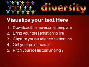 diversity people powerpoint template 0510 powerpoint themes