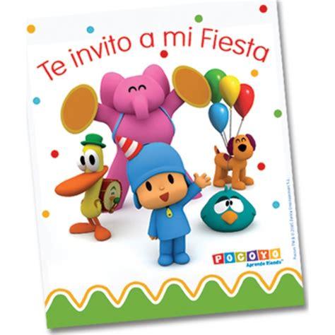 imagenes para cumpleaños de pocoyo invitaci 243 n pocoyo party pieces