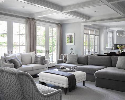 short hills estate transitional family room  york