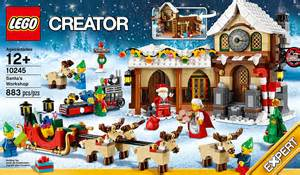 Four Lights Tiny House Company lego christmas set for early festive preparations gizmodiva