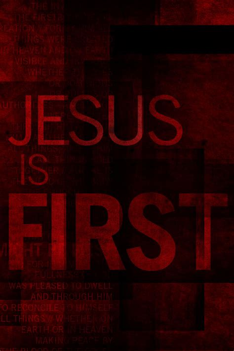 wallpaper iphone 5 jesus jesus is first wallpaper 1 wawasee bible