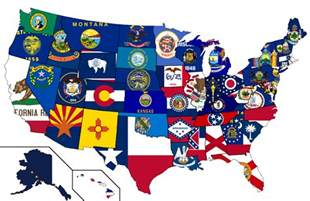 united states map with state flags the 50 state igaming initiative montana to new jersey
