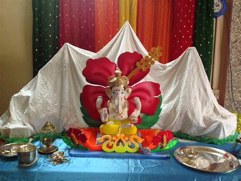 ganapati decorations himalaya from plaster of pop