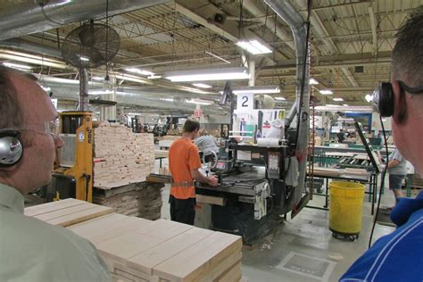 european wood manufacturing investment wows  visitors