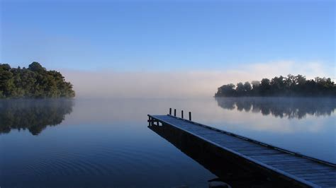 Exceptional Free Religious Christmas Images #8: Long-Dock-at-the-Lake-4K-Wallpaper.jpg