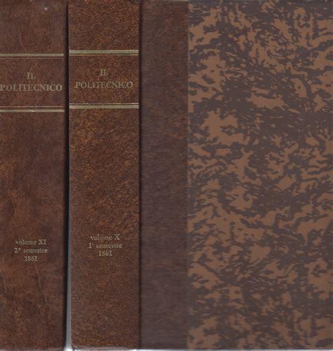 libreria politecnico il politecnico 2 volumi aa vv enciclopedie