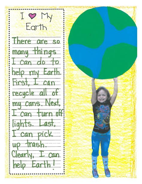 it s here the idea factory a writer s path earth day lesson plans