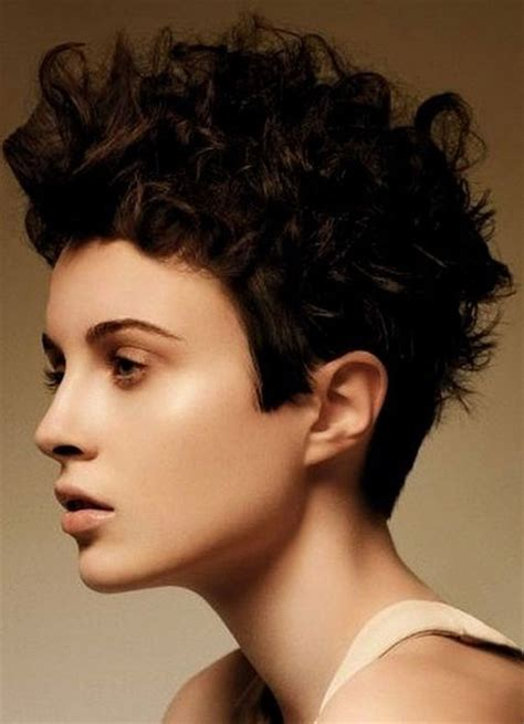 hairstyles very short hair short haircuts for curly hair short hairstyles 2017