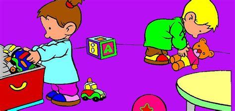 imagenes niños recogiendo sus juguetes recoger menuts