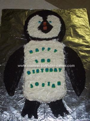 coolest happy feet birthday cake
