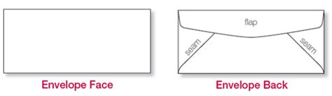 How To Fold Envelope envelope measuring envelope diagrams wsel