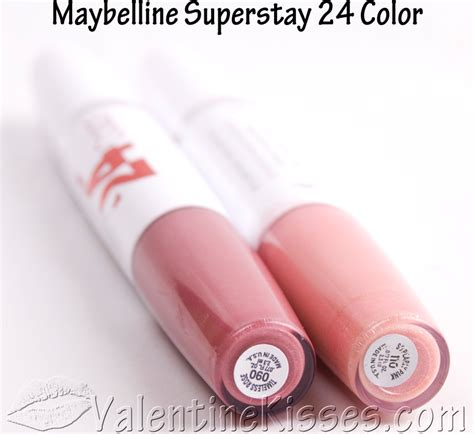 Maybelline Superstay Lip Stain kisses maybelline superstay 24 hour lipcolor