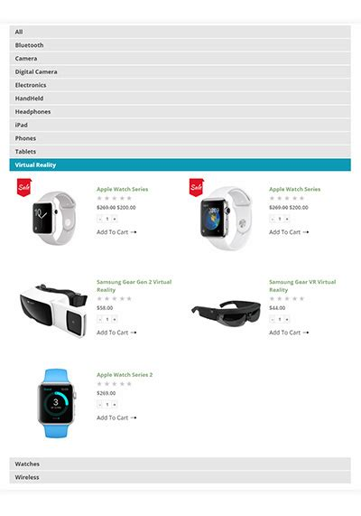 Woocommerce Wordpress Category Tabs Plugin Woocommerce Product Listing Page Template